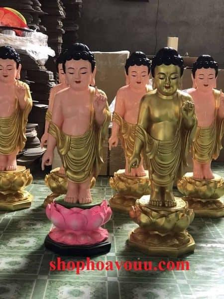 Tượng Phật Đản Sanh 120cm