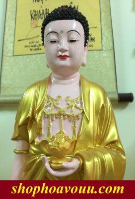 Tượng Phật A Di Đà tại Shop Hoa Vô Ưu