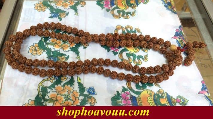 Chuỗi Kim Cang 108 hạt 10 li tại Shop Hoa Vô Ưu