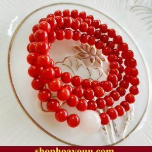 tràng hạt san hô đỏ