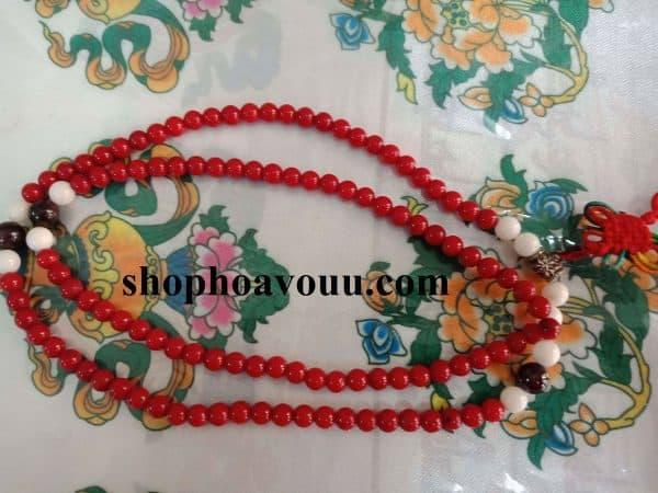 Chuỗi san hô đỏ 108 hạt