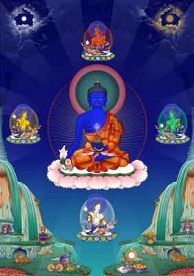 Phật Dược Sư Lưu Ly Quang Như Lai