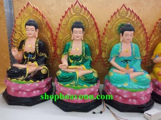 Đức Phật Dược Sư Lưu Ly Quang Như Lai dùng trí - huệ - hạnh của mình để cứu độ chúng sinh thoát khỏi tham, sân, si