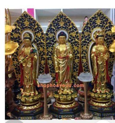 Tìm địa chỉ bán tượng Phật Tây Phương Tam Thánh.