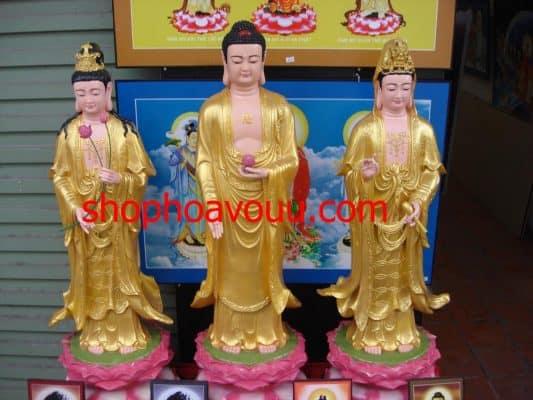 địa chỉ bán tượng Phật Tây Phương Tam Thánh