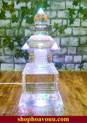Tháp xá lợi khắc chú Khiếp Ấn Đà La Ni