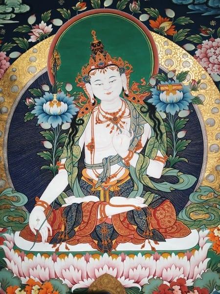 TranhThangka Tây Tạngkhông chỉ cảm nhận được bằng mắt mà còn bằng tâm