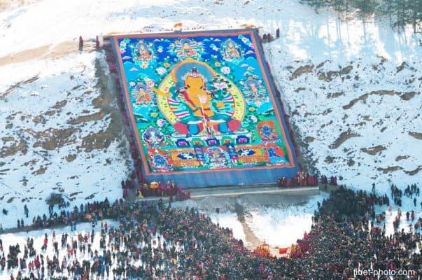Tranh Thangka Tây Tạng