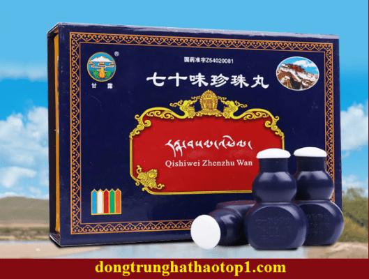Viên bổ não 70 vị trân châu hoàn Cam Lộ Tây Tạng