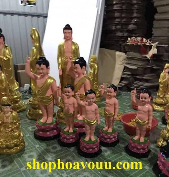 tượng Phật đản sanh 90 cm giá tốt