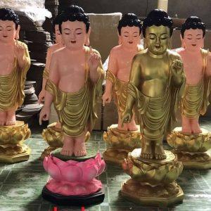 Tượng Phật đản sanh Composite 1m2