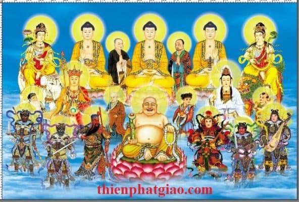 Phật, Bồ Tát Thường Gặp