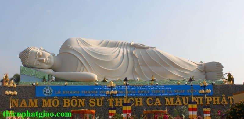 Khánh thành tượng Đức Phật Thích Ca nhập Niết-bàn