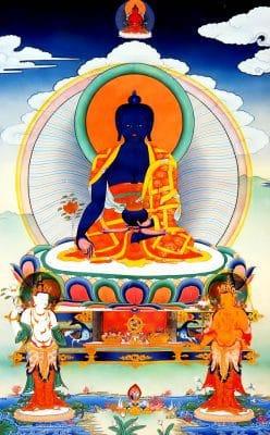 Đức Phật Dược Sư Lưu Ly Quang Như Lai