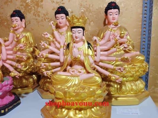 Tượng Chuẩn Đề Phật Mẫu 50 cm tại Shop Hoa Vô Ưu