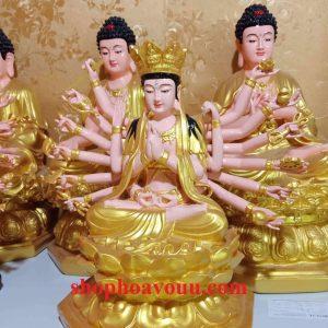 Tượng Chuẩn Đề Phật Mẫu 50 cm