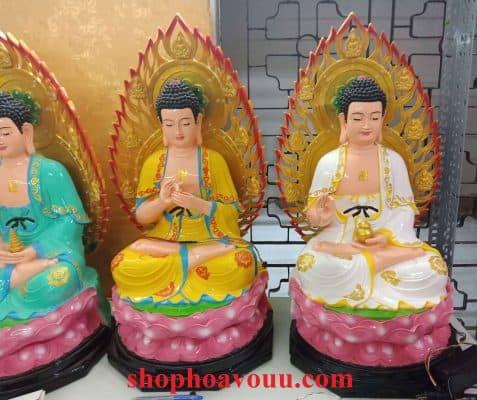 Bộ Tượng Thất Phật Dược Sư Tại Shop Hoa Vô Ưu