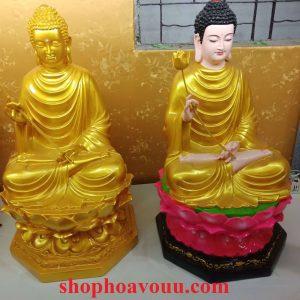 Tượng Phật Thích Ca Niêm Hoa cao 50 cm