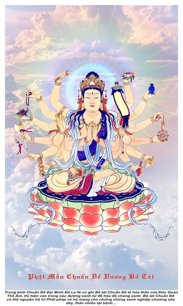 Phật Mẫu Chuẩn Đề Bồ Tát