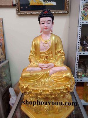 Tượng Dược Sư 60 cm màu vàng tại SHop Hoa Vô Ưu