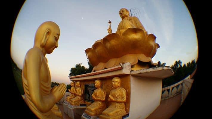 Phật Thích Ca Niêm Hoa, Ngài Ca Diếp Vi Tiếu