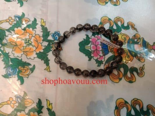 Chuỗi Thạch Anh Tóc Đen 10 li tại Shop Hoa Vô Ưu