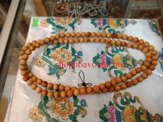 Chuỗi Ngọc Am 108 hạt 10 litại Shop Hoa Vô Ưu