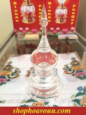 Tháp Xá Lợi Thái Lan - Mica Trong Suốt 2 Tầng