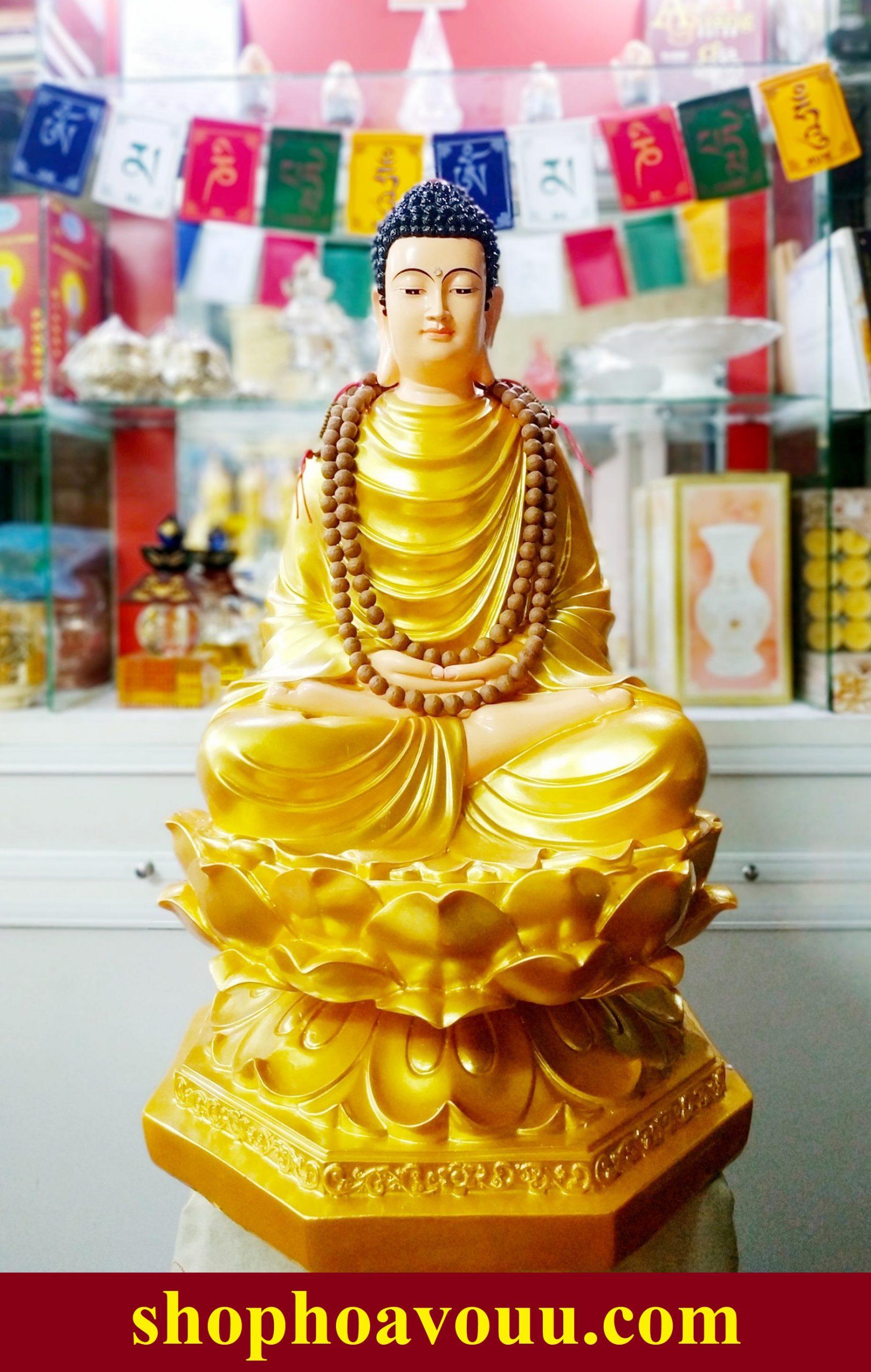 Tượng Phật Thích Ca Mâu Ni cao 65cm